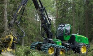 Лесозаготовительные машины