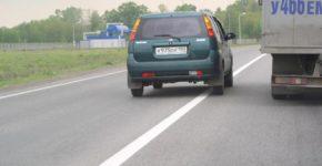 Лишение водительских прав за пересечение сплошной дорожной разметки в 2020 году