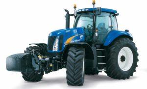 Новый трактор Нью Холланд