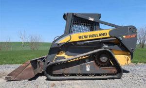 Нью Холланд с бортовым поворотом