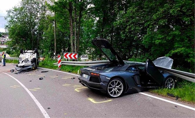 Полная гибель авто
