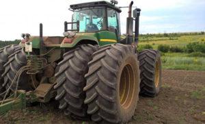 Особенности трактора