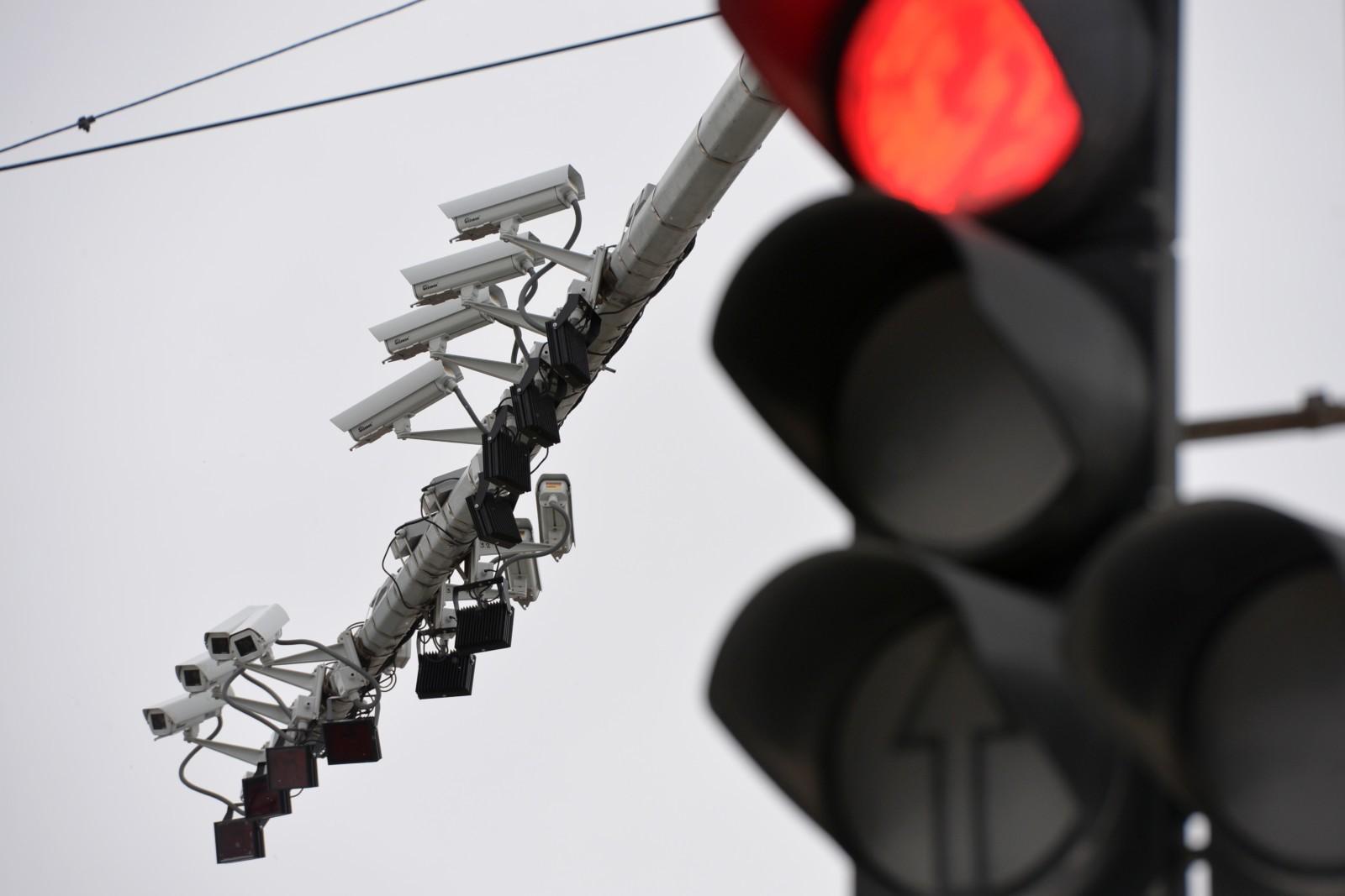 видеофиксация проезда на красный свет